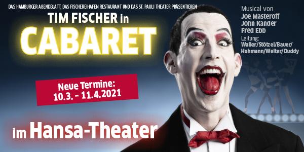Tim Fischer in Cabaret - Legende meets Legende - Verlegt auf den 10.03.-11.04.21