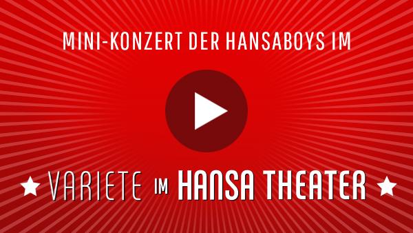 Mini-Konzert der Hansaboys