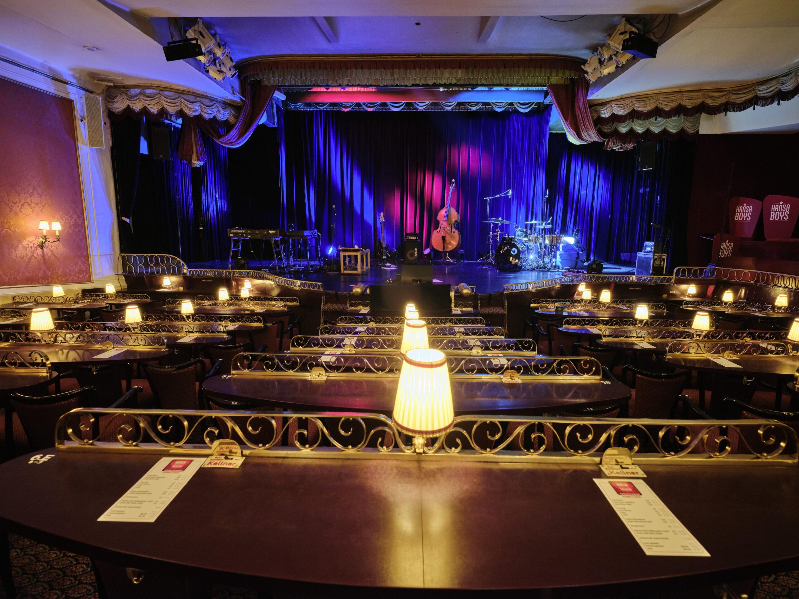 St. George Club im Hansa-Theater © Oliver Fantitsch